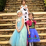 Anna, Elsa, And Olaf Costumes