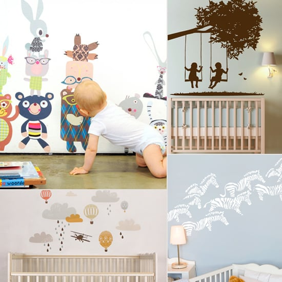 Nursery Wall Decals POPSUGAR Moms - Baby room decals
