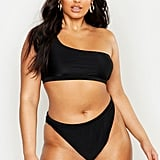 Our Pick: Boohoo One Shoulder High Leg Bikini