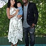 Ne-Yo With Wife and Baby 2016 Teen Choice Awards