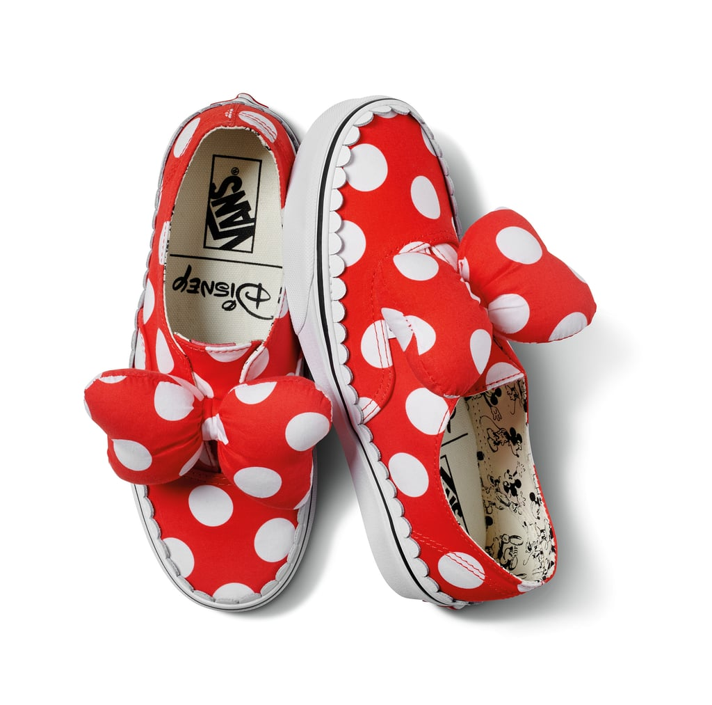 71748b73332 Disney x Vans Authentic Gore in Minnie Mouse Bow True White