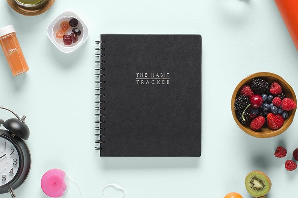 Blue Sky The Habit Tracker Journal