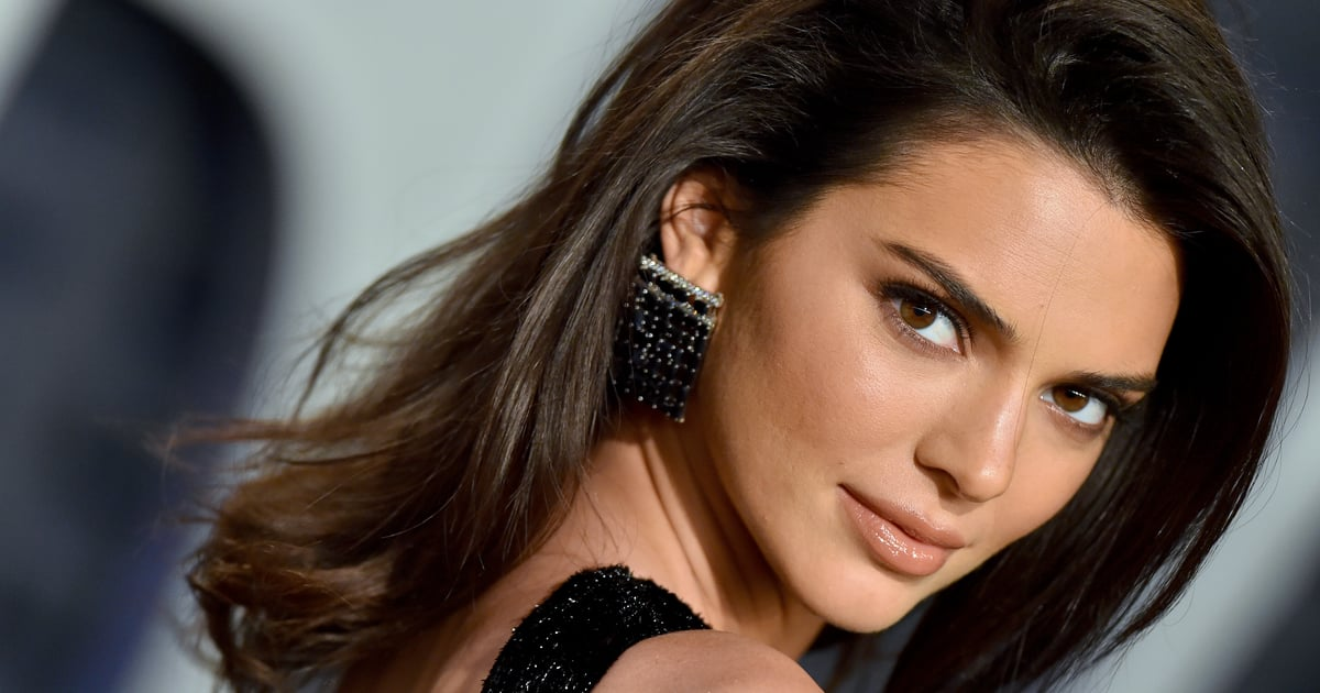 Kendall Jenner Just Gave the Tortoiseshell Nail Art Trend a Fresh Spin For Summer.jpg