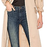 Michael Lo Sordo Relaxed Cocoon Trench With Contrast Stitch