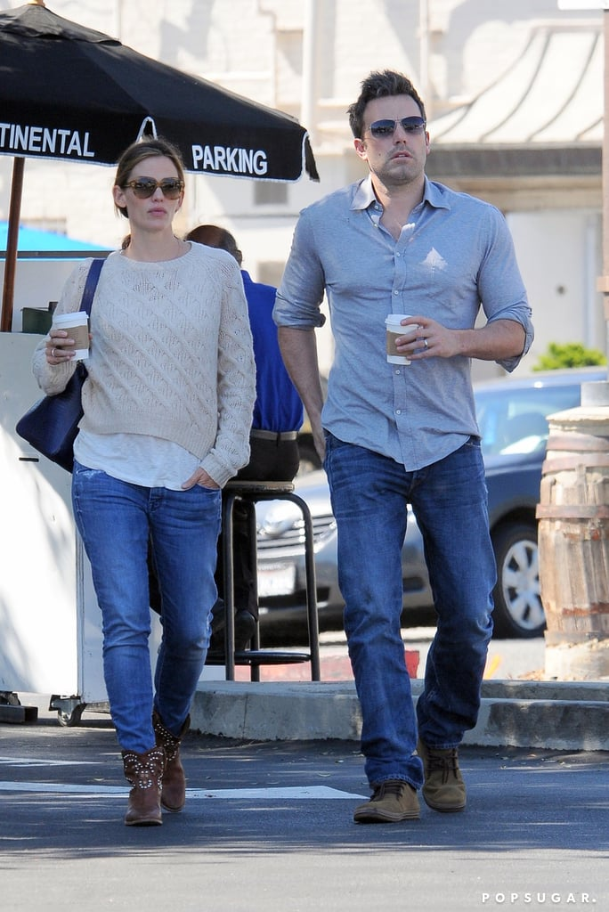 Jennifer Garner and Ben Affleck Show Sweet Postbirthday PDA