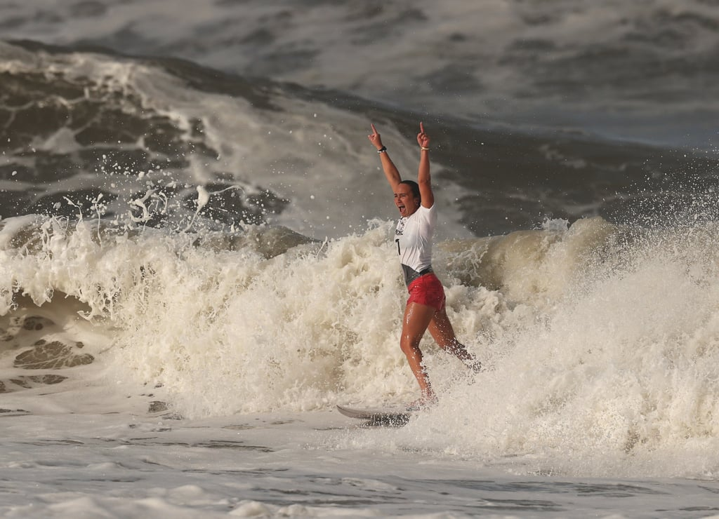Carissa Moore Wins Gold in Women's Surfing at 2021 Olympics
