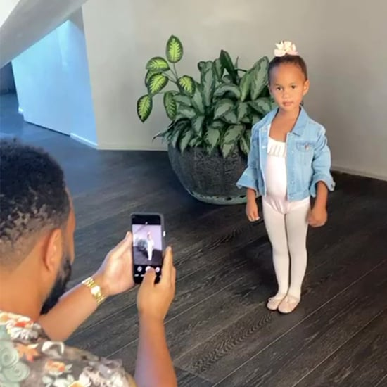 Chrissy Teigen Shared Video of Luna in a Ballerina Costume