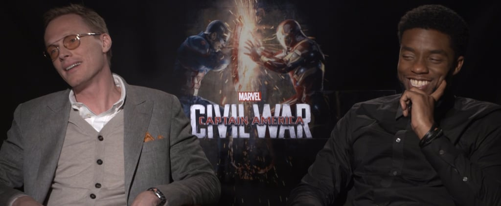 """Chadwick Boseman and Paul Bettany Call Being Avengers a """"Blessing"""""""