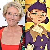 Emma Thompson: Captain Amelia in Treasure Planet