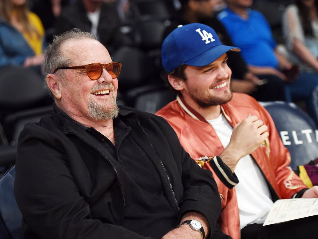 Jack Nicholson brought his youngest son, Ray, 25, to the LA Lakers basketball game on Friday night. The father-son duo sat courtside as they cheered on the Lakers, who ended up beating the Minnesota Timberwolves 119-130. Jack and Ray have made it a habit to attend basketball games together. Back in March 2016, the two appeared to have a blast during their boy's night out, and the following month, the pair was joined by Miles Teller and Dax Shepard. We just love seeing these two together!