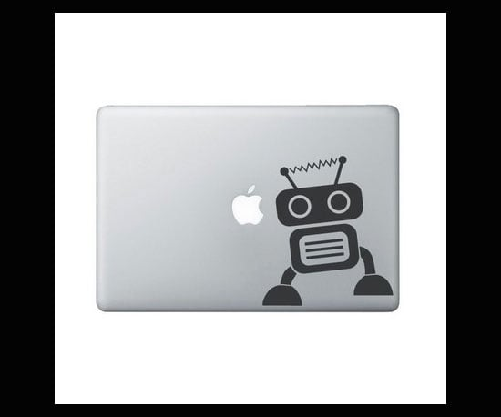 Robot 1 Laptop Decal ($8)