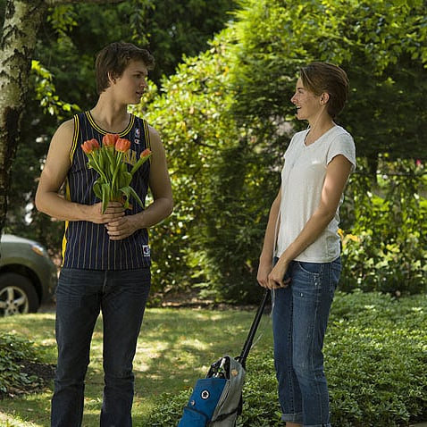 The Fault in Our Stars Metaphor Clip