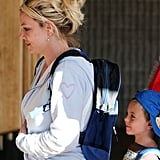 Britney Spears Breaks From X Factor For a Tropical Trip With Her Boys