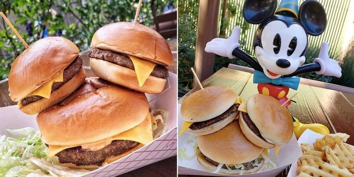 Mickey Share Your Ears Burger At Disney California