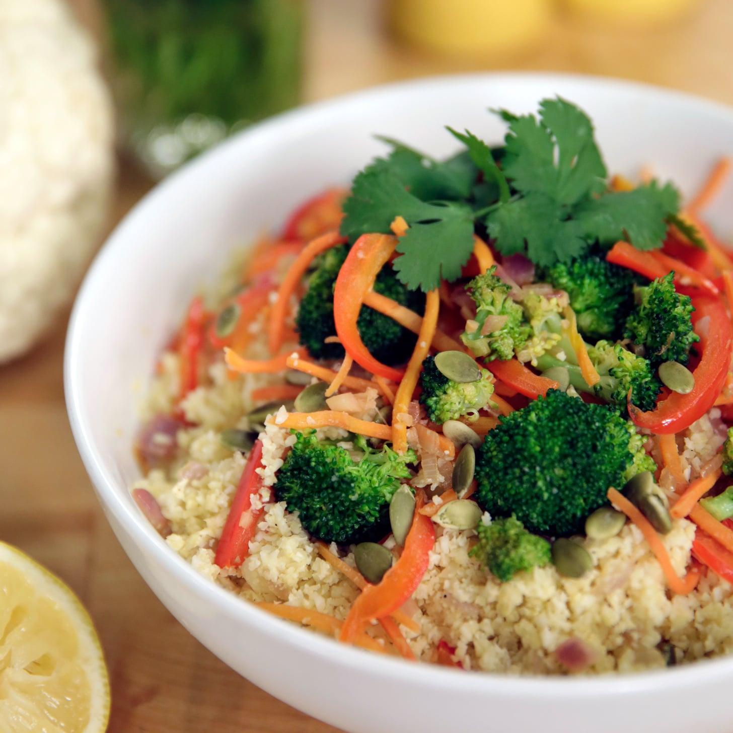 Cauliflower rice stir fry recipe popsugar food ccuart Image collections