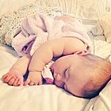 """Never wake a sleeping baby!"" — Kacie D. Source: Instagram user katmjellis"