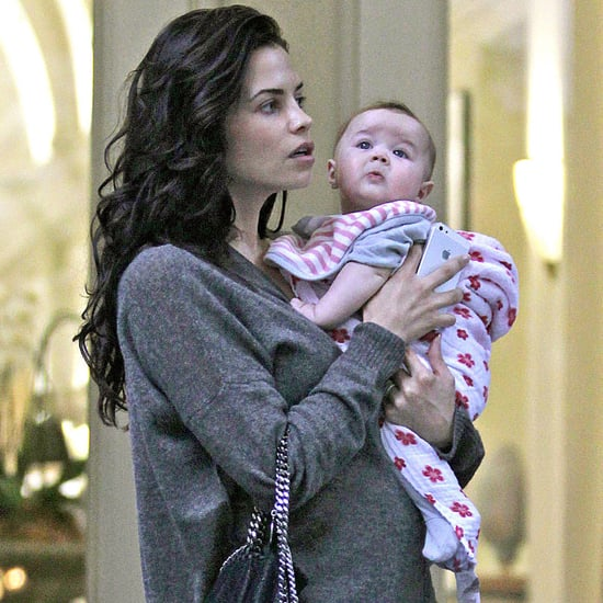 Jenna Dewan and Everly Tatum in Vancouver