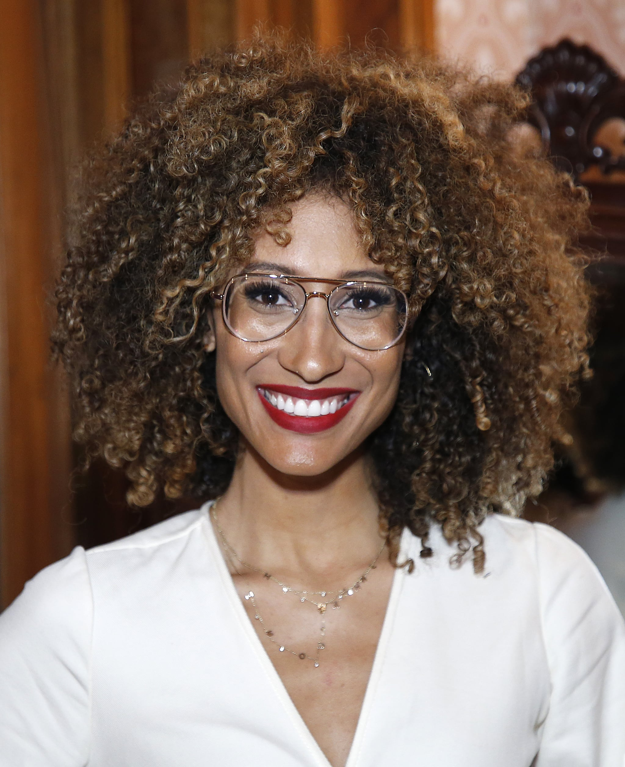 BROOKLYN, NEW YORK - OCTOBER 18:  Elaine Welteroth poses during Invest in Brooklyn Dinner at The Weylin on October 18, 2019 in Brooklyn, New York. (Photo by John Lamparski/Getty Images)