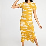 Old Navy Fitted Jersey Midi Tee Dress