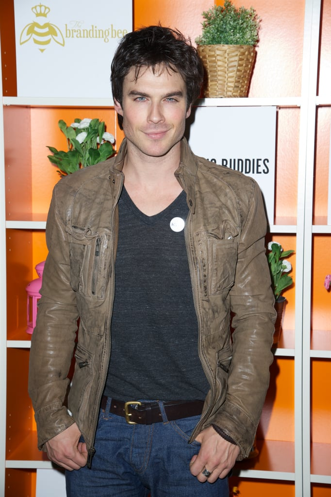 Ian Somerhalder attended the after-party for Drinking Buddies at SXSW.