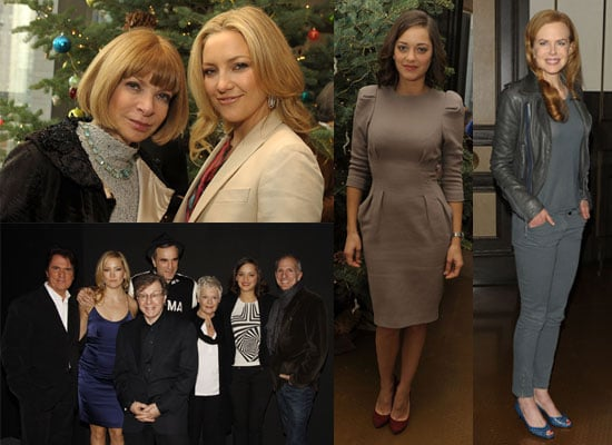 Photos of Judi Dench, Marion Cotillard, Kate Hudson, Daniel Day-Lewis, Nicole Kidman at Nine Luncheon and Screening NYC