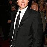 He looked impossibly sexy on the red carpet at the Palm Springs International Film Festival in January 2007.