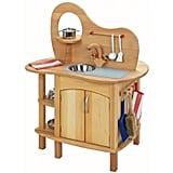Glueckskaefer Wooden Play Kitchen ($423)