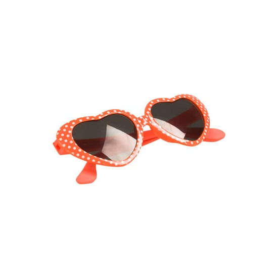 Your little one will be even more lovable in these heart-shaped sunglasses ($6, originally $8).