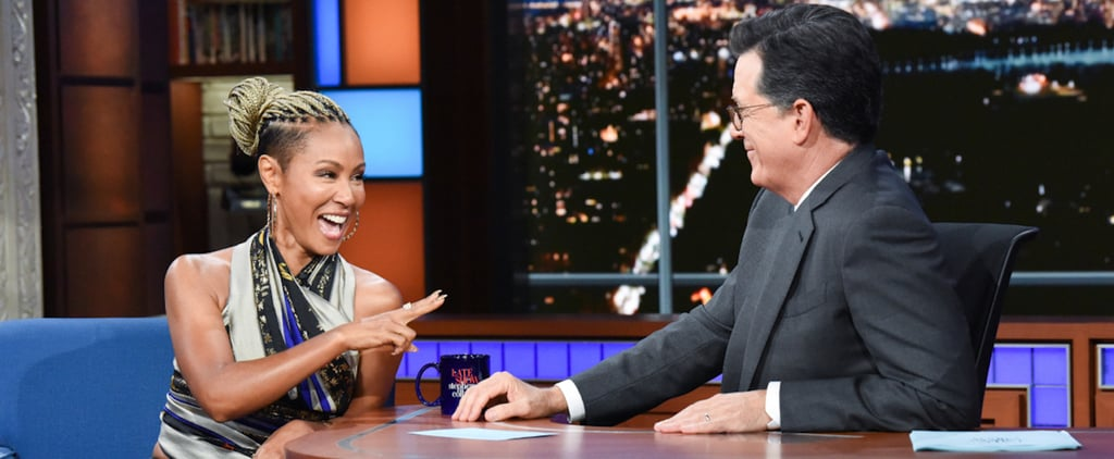 Jada Pinkett Smith on The Colbert Show 2019