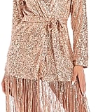 PSFS V-Neck Sequin Dress