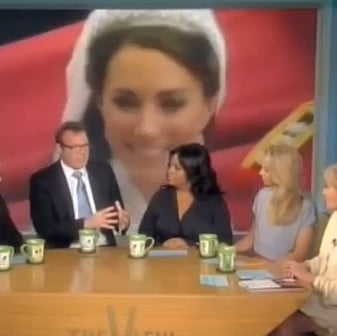 Watch Royal Biographer Andrew Morton on The View