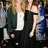 On Sunday, Cara Delevingne and Hailee Steinfeld were a photogenic duo at the Topshop Unique show.