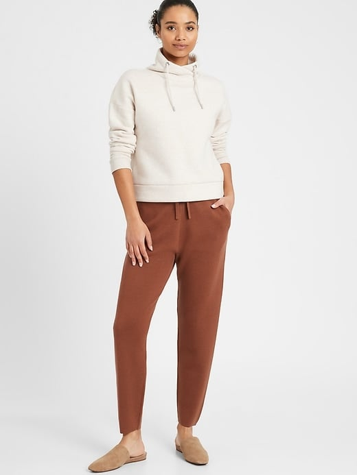Banana Republic Washable Merino Sweater Jogger
