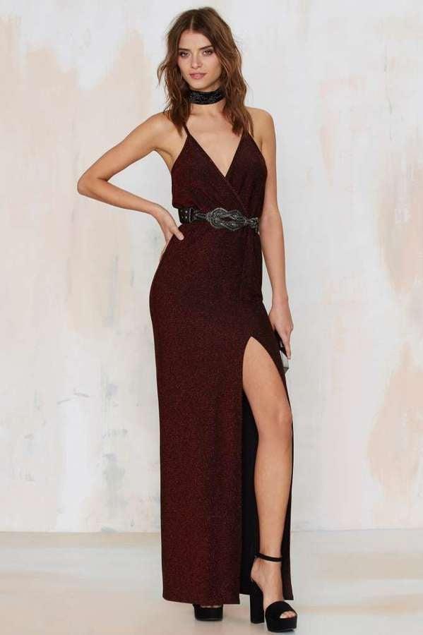 Factory Till The Glitter End Maxi Dress ($78)