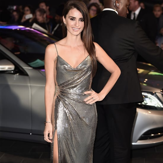 Penelope Cruz Wearing Versace