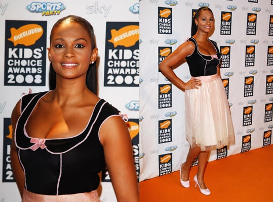 2008 Nickelodeon UK Kids' Choice Awards: Alesha Dixon