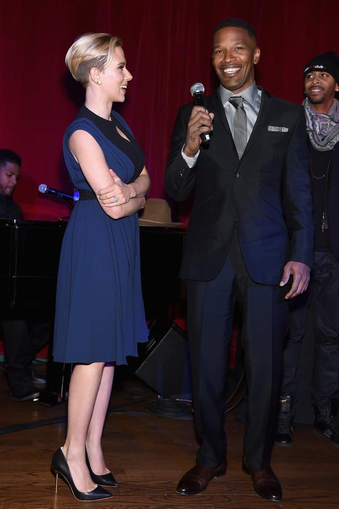 Scarlett Johanssons Wedding Ring Photos POPSUGAR Celebrity Photo 4