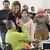 She and King Felipe VI attended the National Paraplegics Hospital's 40th anniversary event in February in Toledo, Spain.