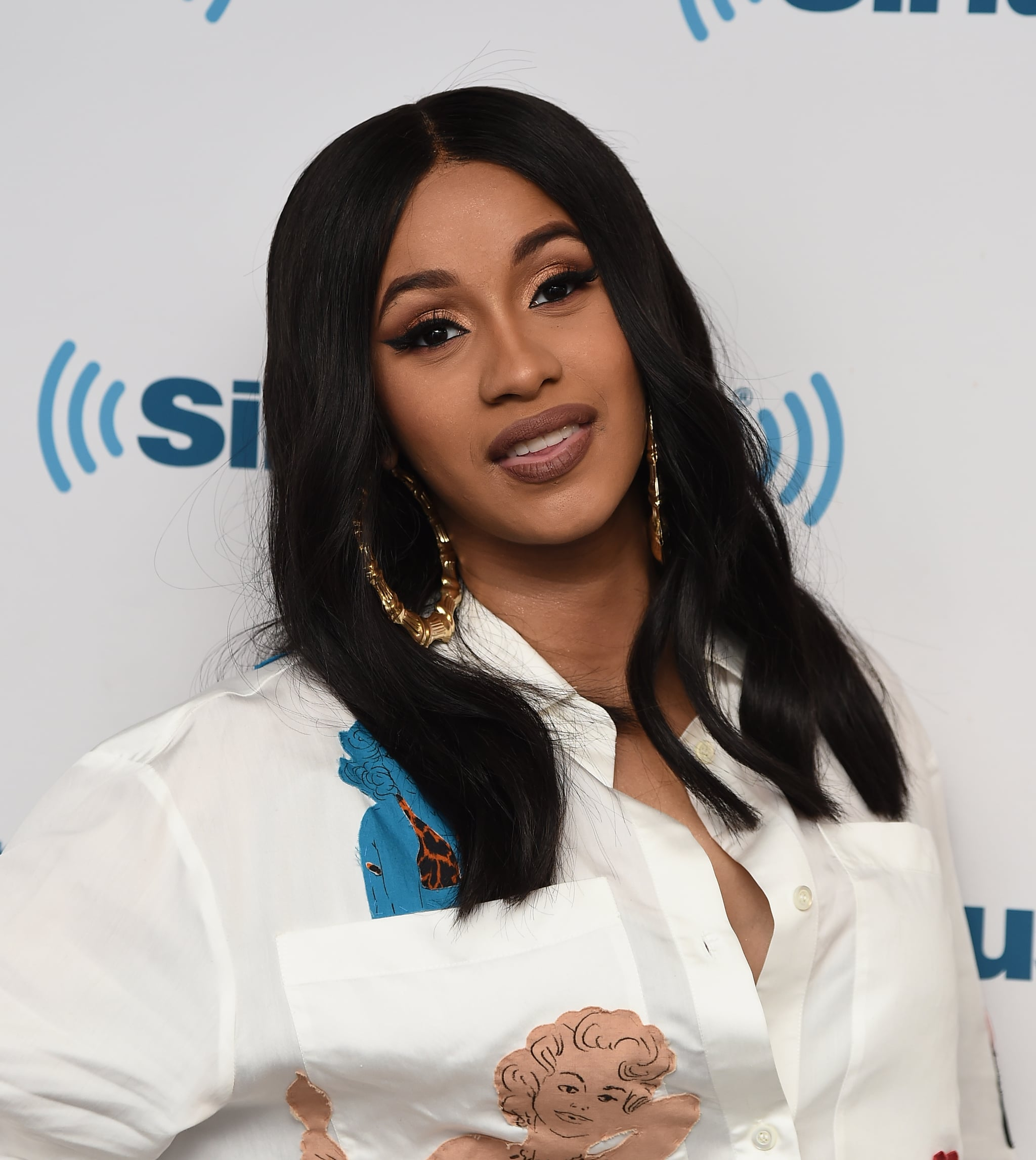 NEW YORK, NY - MAY 09:  Performing artist Cardi B visits the SiriusXM Studios on May 9, 2018 in New York City.  (Photo by Ilya S. Savenok/Getty Images)