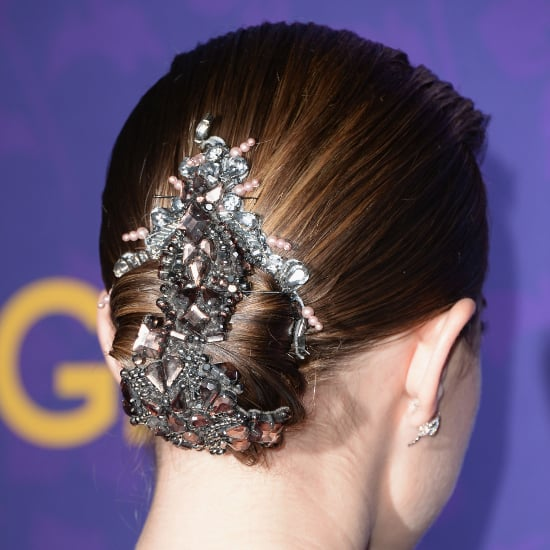 Allison Williams's Luxe Hair Piece Is 100 Percent Bridal-Chic