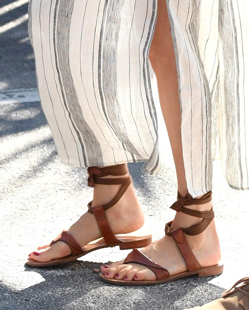 Meghan Markle's Sarah Flint Grear Sandals
