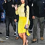 Kim Kardashian at Good Morning America in New York City