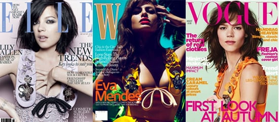 Lily Allen, Eva Mendes and Freja Beha Ericsen in Miu Miu Dress on Summer Magazine Covers