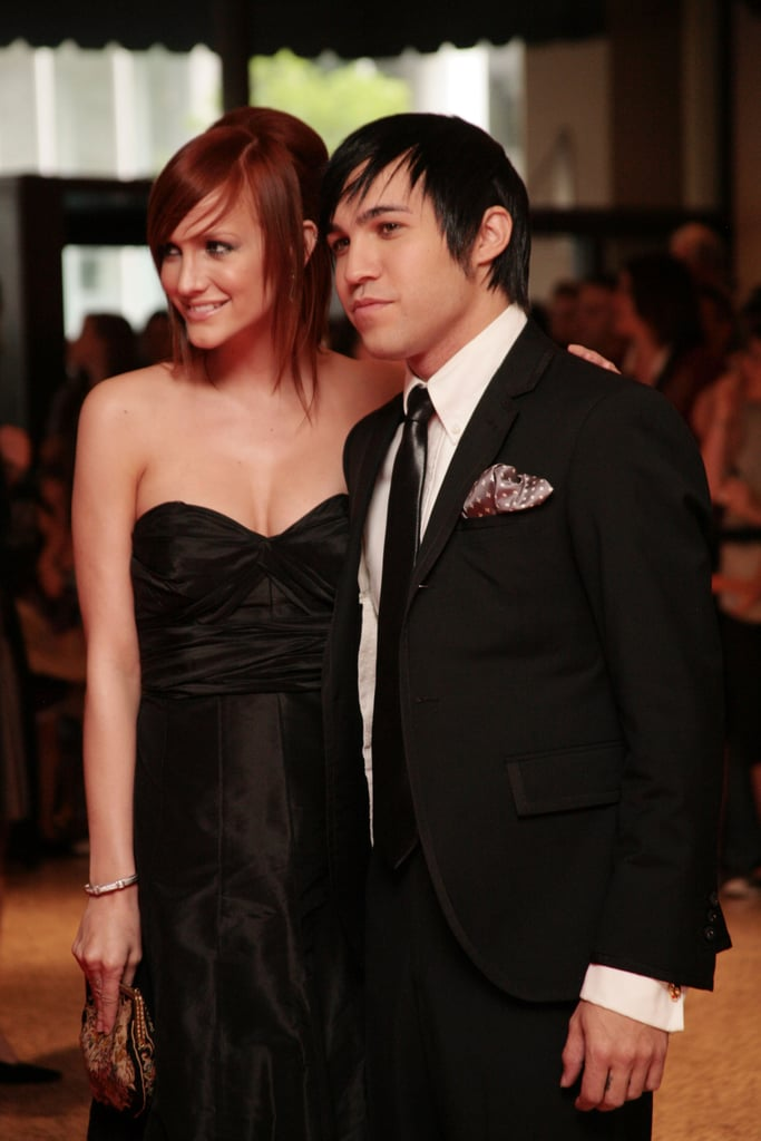 Ashlee Simpson and Pete Wentz
