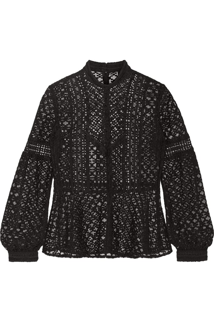 Anna Sui Emboridered Top ($300)
