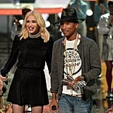 Gwen Stefani presented the iHeartRadio Innovator Award to her longtime friend and collaborator Pharrell Williams.