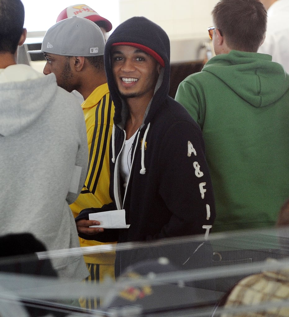 Photos of JLS at In-n-Out Burger in Los Angeles