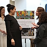 January: She also visited the Association of Commonwealth Universities, which is another one of her royal patronages.