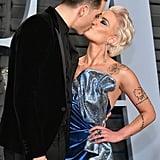 Halsey and G-Eazy at the 2018 Oscars
