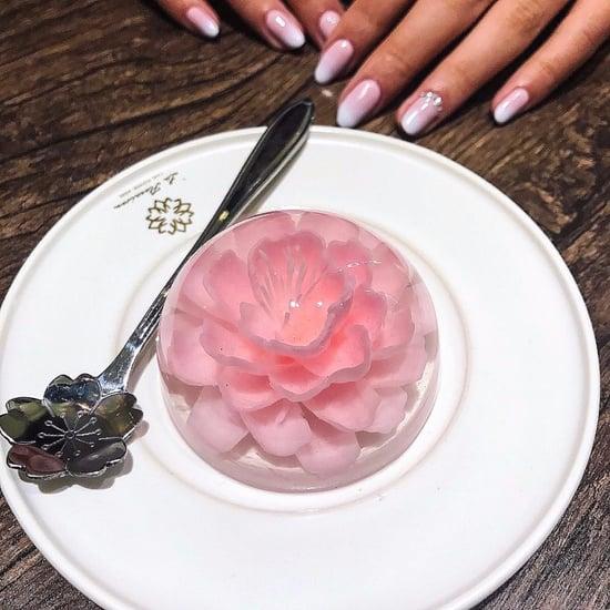Floral Sakura Jelly Cakes